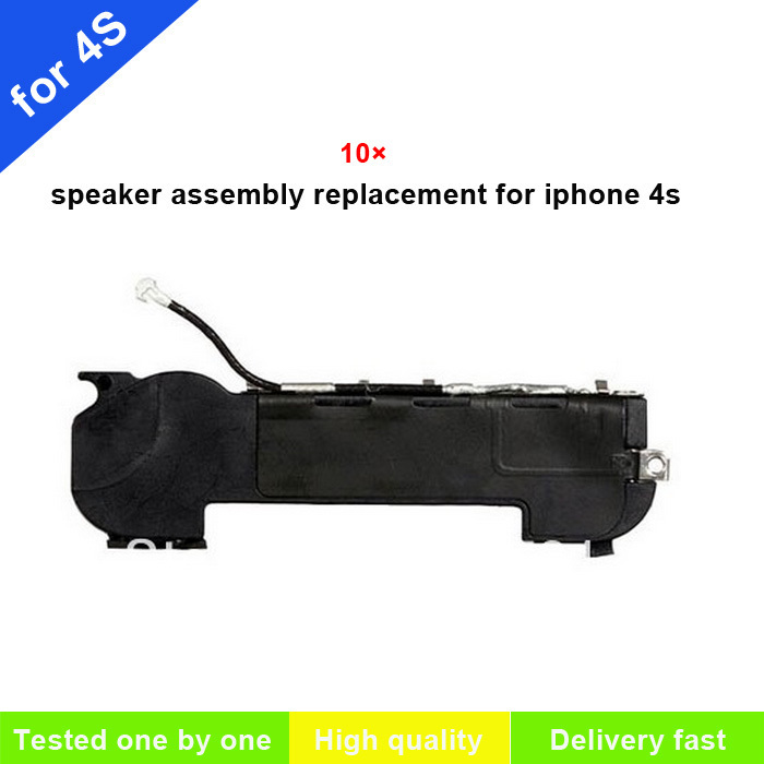 10 pcs/pack original Loud Speaker Buzzer Flex with Wifi Antenna Assembly For iphone 4S apple parts replacement(China (Mainland))