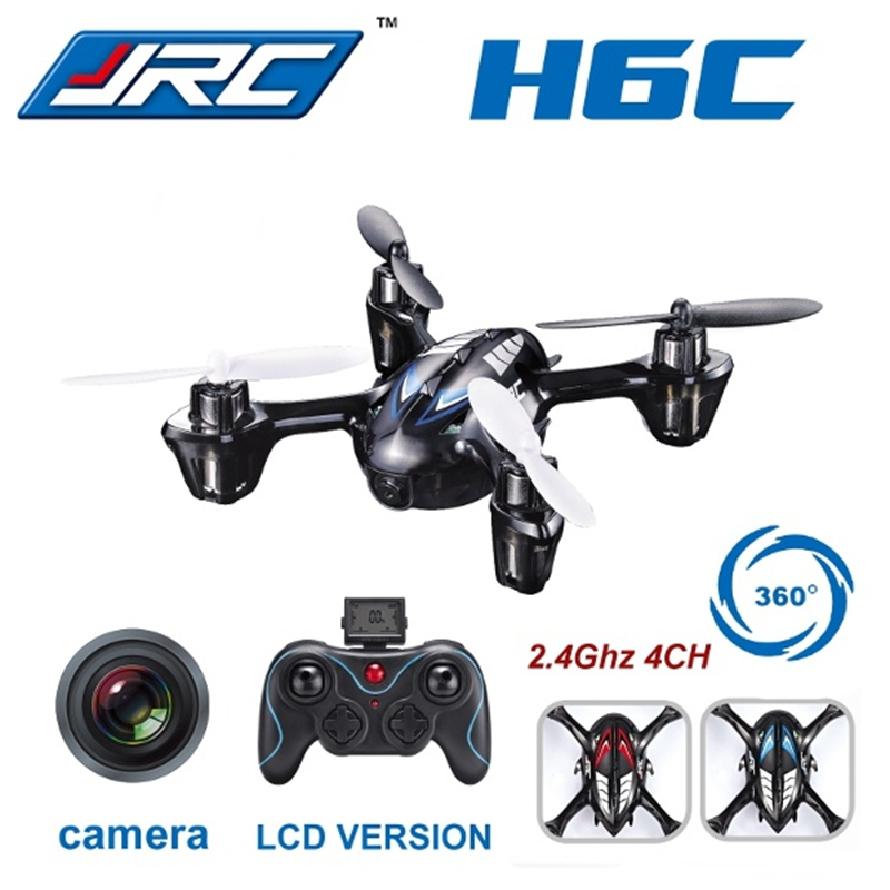 2016 Hot Sale JJRC H6C New Version 2.4G 4CH Headless Mode Quadcopter with Camera<br><br>Aliexpress