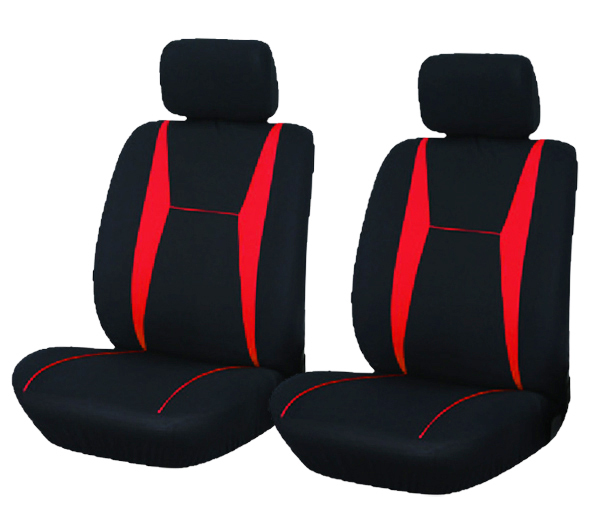 red and black car seat covers 4 pieces front car seat set durable washable free shipping. Black Bedroom Furniture Sets. Home Design Ideas