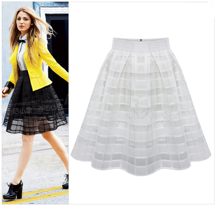 Long Knee Skirts | Jill Dress