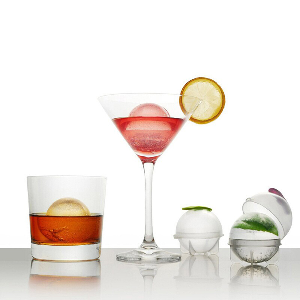 4Pcs/set Mini Ice Mold Ice Ball Maker DIY Ice Cube Tools Set for Cocktails Whiskey Drinking(China (Mainland))