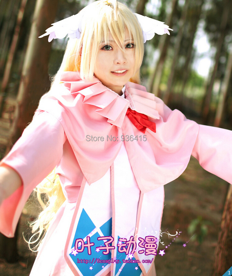 Free-shipping-Fairy-Tail-Cosplay-Fairy-Tail-s-First-Guild-Master-Mavis ...