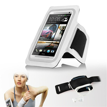 Waterproof Sport Armband Phone Bag Running GYM Men & women Universal With Adjustable Wrist Strap Case For HTC One E8