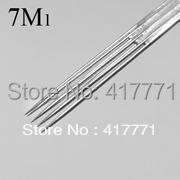 7M1 tattoo needle 50pcs/box free shipping,sterilized tattoo needle supplie wholesale Magnum(China (Mainland))