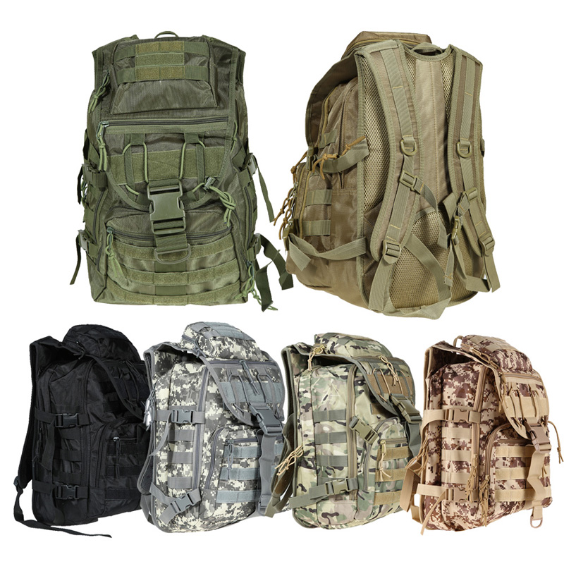 X7 Tactical Multifunctional Outdoor Camo Backpack Mountaineering Riding Bag H1E1(China (Mainland))