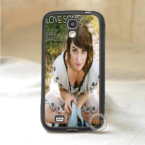 sara bareilles love song fashion mobile case cover for Samsung galaxy S3 S4 S5 S6 Note2 Note3 note4 H7187(China (Mainland))