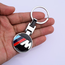 Zinc Alloy Car Key Rings Chains M Power M Performance for BMW 3 Series 5 Series 7 Series X1 X3 X4 X5 X6 330i Z4 GT M3 760li(China (Mainland))