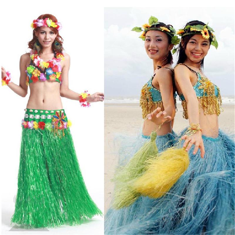 Гавайский костюм своими руками для танца