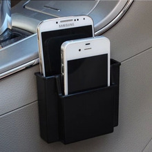 Multifunctional Car Cell Phone Holder Black Mobile Phone Charge Box Holder Pocket Organizer Car Seat Bag Storage(China (Mainland))