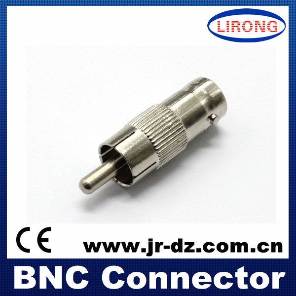 5pcs Good Quality female BNC to Male rca connector(China (Mainland))