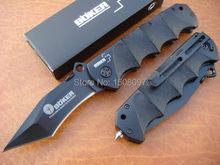 440c BOKER 263 cuchillo plegable de la caza del cuchillo del rescate del cuchillo que acampa envío libre al aire libre