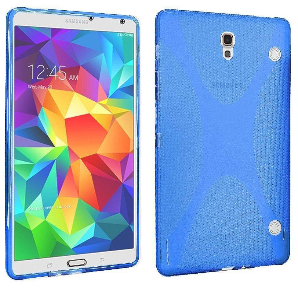 Гаджет  New Soft S-line TPU Back Cover Case Anti-slip Skin For Samsung Galaxy Tab S 8.4 SM-T700 T705C None Компьютер & сеть