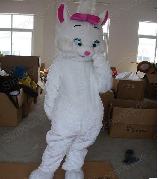MARIO CAT Mascot Costume Fancy Dress Animal mascot costume free shipping(China (Mainland))