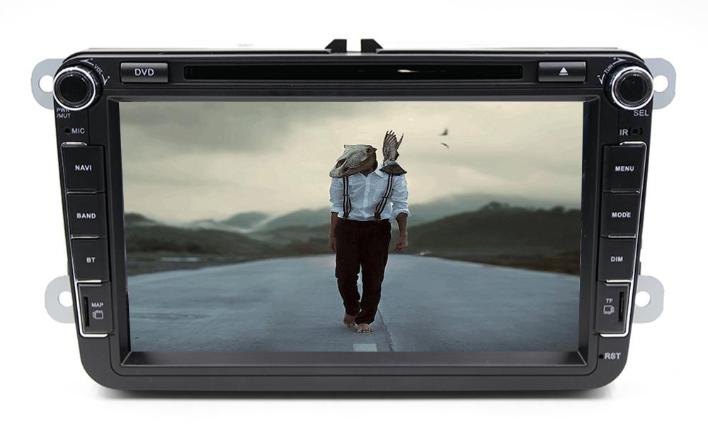 Double Din Car PC DVD GPS For VW Golf 5 6 Polo Bora Jetta MK4 B6 Passat Tiguan Skoda Octavia Fabia android(optinal)car Russia PC()