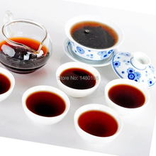 Top Grade 5 Flavors Mixed in Gift Bag 5 Years Ripe pu erh tea 250g from