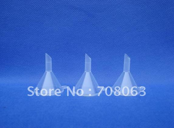 Free Shipping 50pcs/lot Eco-friendly mini plastic funnel, tundish, cosmetic tool