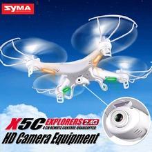 Original SYMA X5C Upgrade X5C-1 2.4G 4CH 6-Axis Remote Control RC Helicopter Quadcopter Toys Drone With Camera(China (Mainland))