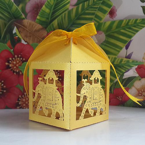 Elephant Wedding Favors Elephent Wedding Favor Box