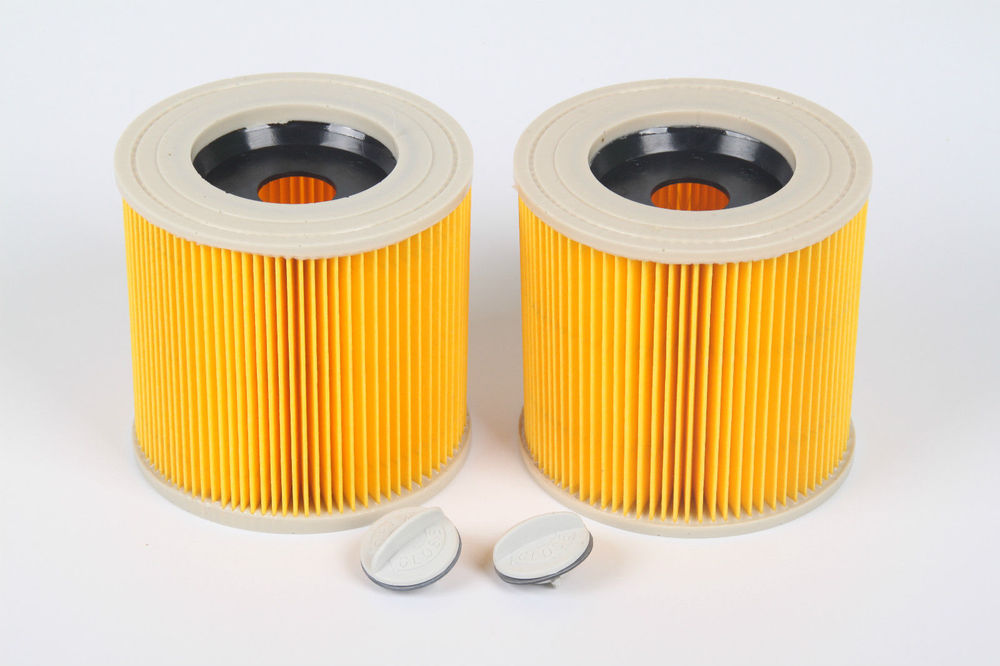2 Replacement Filter for Karcher Vacuum Cleaner Hoover Wet Dry Cartridage Filter for A1000 A2200 A3500 A223 WD2.200 WD3.500r(China (Mainland))