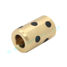 DIY 3d printer parts 8mm x15mm x24mm bearing self lubricating oilless bearing composite copper sleeve for