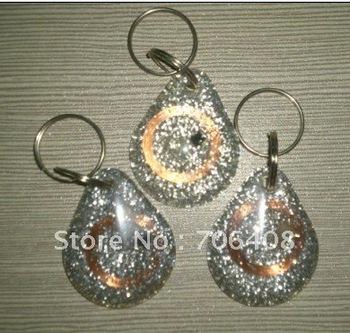 RFID keyfob/keytag 125KHz ISO10536 contaless tags