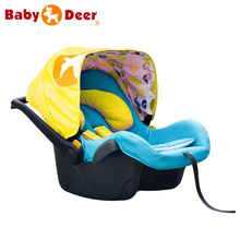 Upscale Babay Car Seat with Five-point Harness for Baby from 0 to 6 months(China (Mainland))