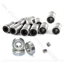 NEW, 11 x LM8UU + 3 x 608ZZ +3 x 624ZZ NSK Bearing Kit for RepRap Wilson TS 3D Printer Free Shipping