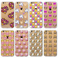 """New Arrival Cute Colorful Cat Goat Horse Animals Painted Phone Case Cover for iPhone 6 6s 4.7"""" Mobile Phone Back Skin Cover"""