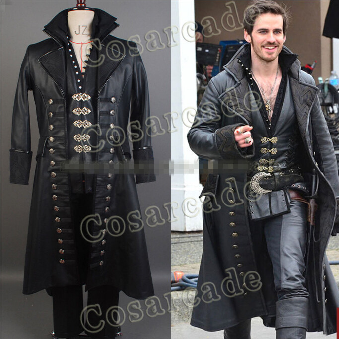 Once Upon A Time Costumes: Custom Made Once Upon A Time Captain Hook Killian Jones