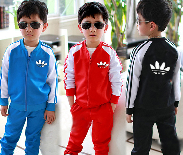 Brand baby boy sports clothing set kids children clothes children's costumes sets for boys all for children clothing and accesso(China (Mainland))