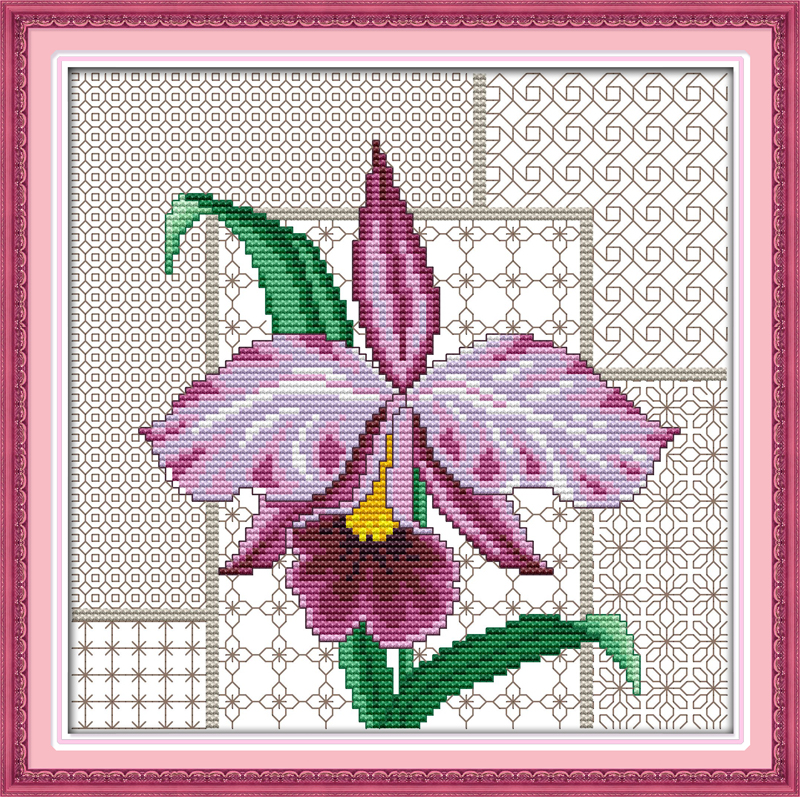 Irises Painting Needlework DIY Cross Stitching innovation items Embroidery kit Cross-Stitching home decoration(China (Mainland))