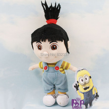 New Arrival High Quality Plush Toy Despicable Me 2 Movie Agnes Girl figure Plush Toy For Gift