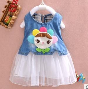Платье для девочек MamaKiss Baby 2015 A418 жилет для девочек mamakiss stable boy a329