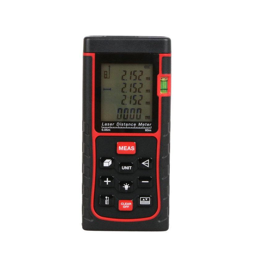 60M Mini Digital Handheld Laser Distance Meter Range Finder Measure Diastimeter  new arrival<br><br>Aliexpress
