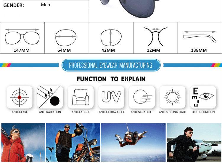 High Quailty Polarized Pilot Women Sunglasses Driving Glasses Sport