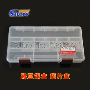 iLure   Fishing Box Fishing Tackle Box Lure Box 22.5cm X 11.2cm X 3.3(China (Mainland))