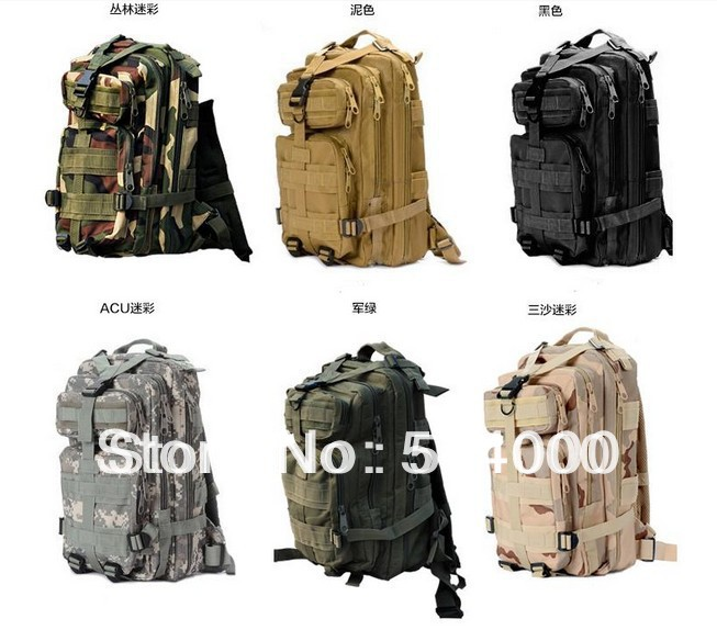 camping bags ,waterproof Molle backpack military 3P Tad Tactical Backpack travel bag men cordura 25L drop shipping - Fire Dragon store