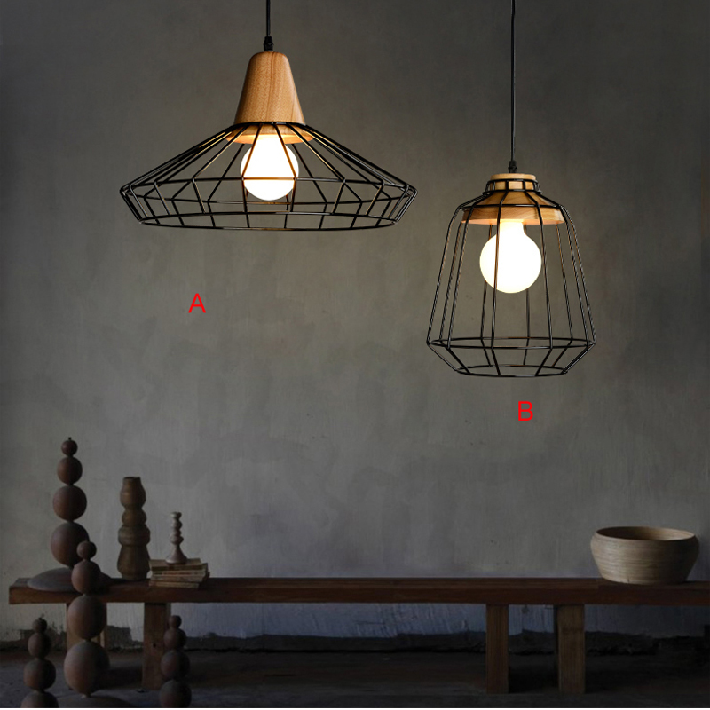 wrought iron pendant lights for home black bar pendant lamp home decor lights wedding decoration rustic pendant lights led lamp<br><br>Aliexpress