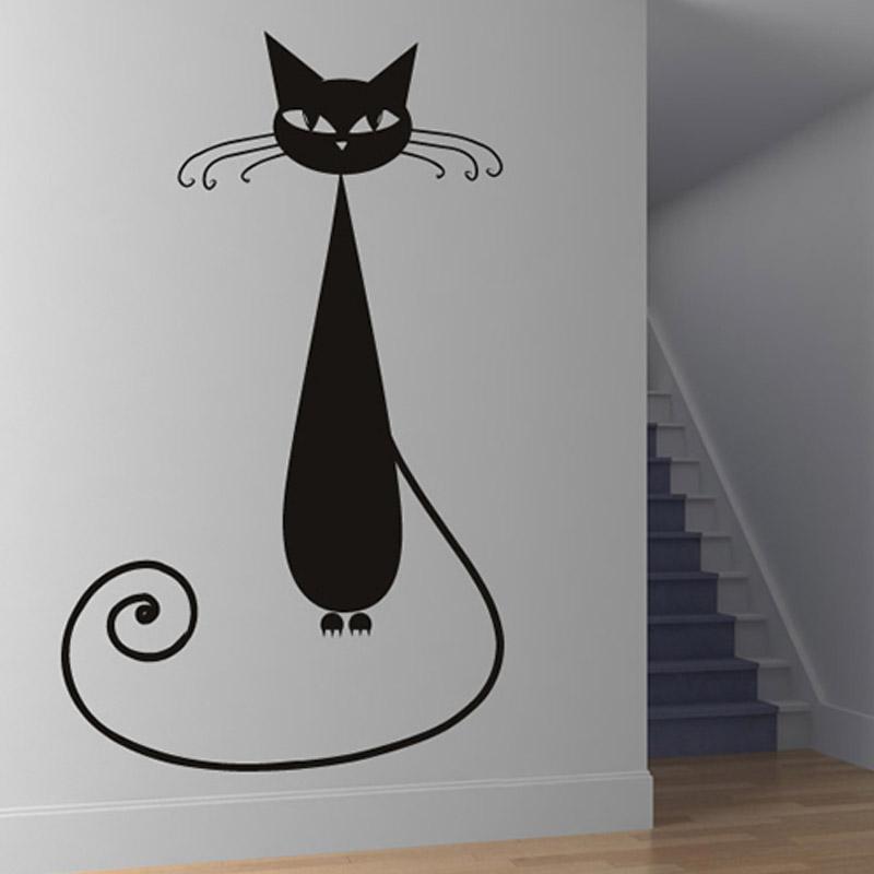 Коты на стене своими руками 593