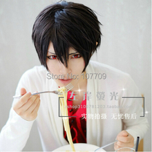 Free Shipping Touhou Project Kisaragi Shintaro 35CM Short Hair Wig Cosplay party Wigs Fashion + Free Wig Cap