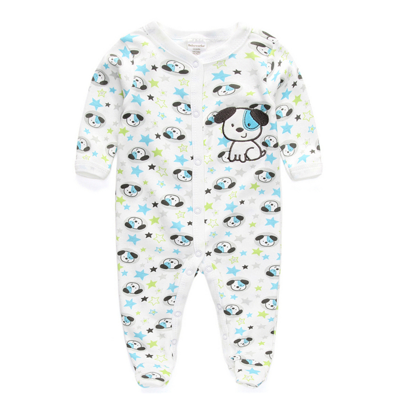100 cotton baby rompers wear jumpsuits kids new born baby
