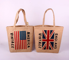 zakka linen cloth pouch factory outlets flag bags shopping bags shoulder bag