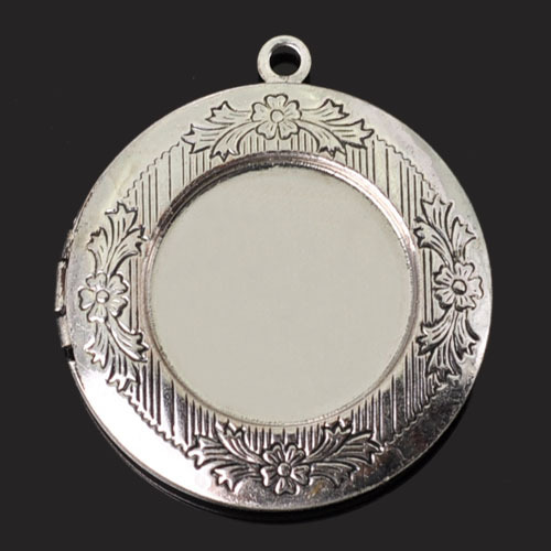 X21-D2,32mm 10pcs/lot Oval Brass floating Locket Silver Blank Pendant Photo Frame for Jewelry Making Glass Cabochon(China (Mainland))