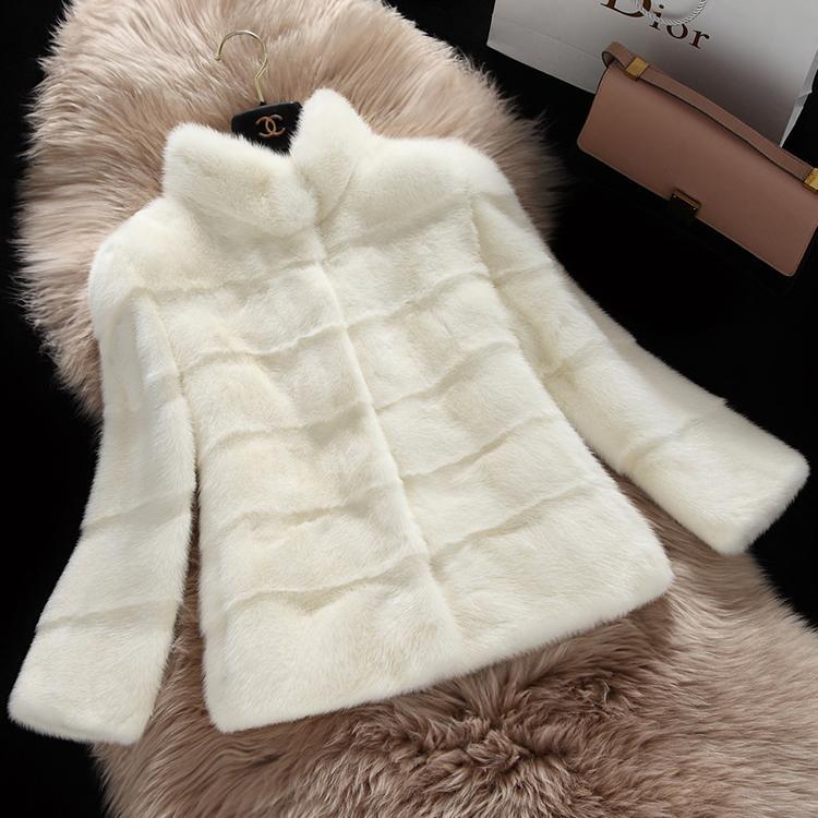 New  2015  imported mink coat the skin water mink mink women long sleeve short jacket in the winter