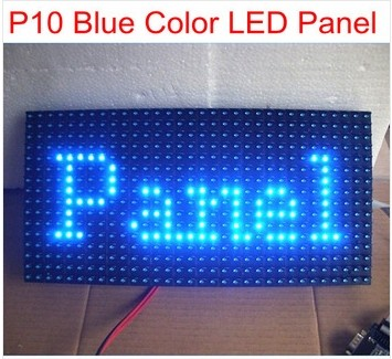 Factory best price single color P10 outdoor LED display moudle red/green/white/blue/grey best price good quality from China(China (Mainland))