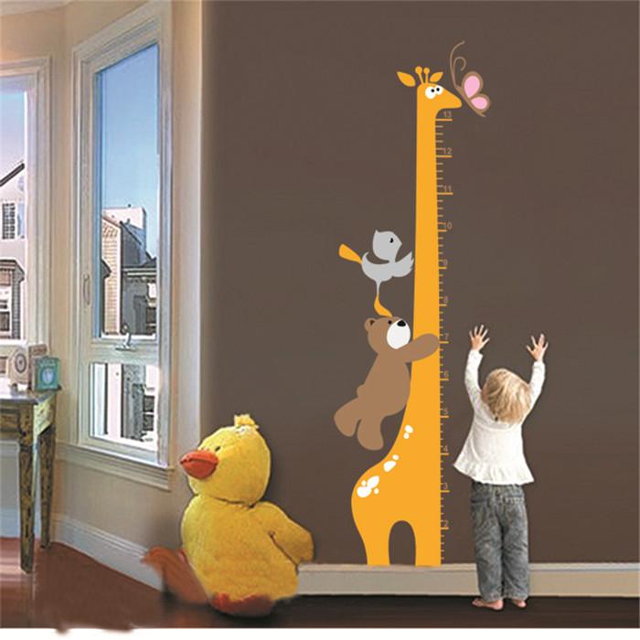 Children Vinyl Wall Stickers For Kids Rooms Home Decor Wallpaper Art