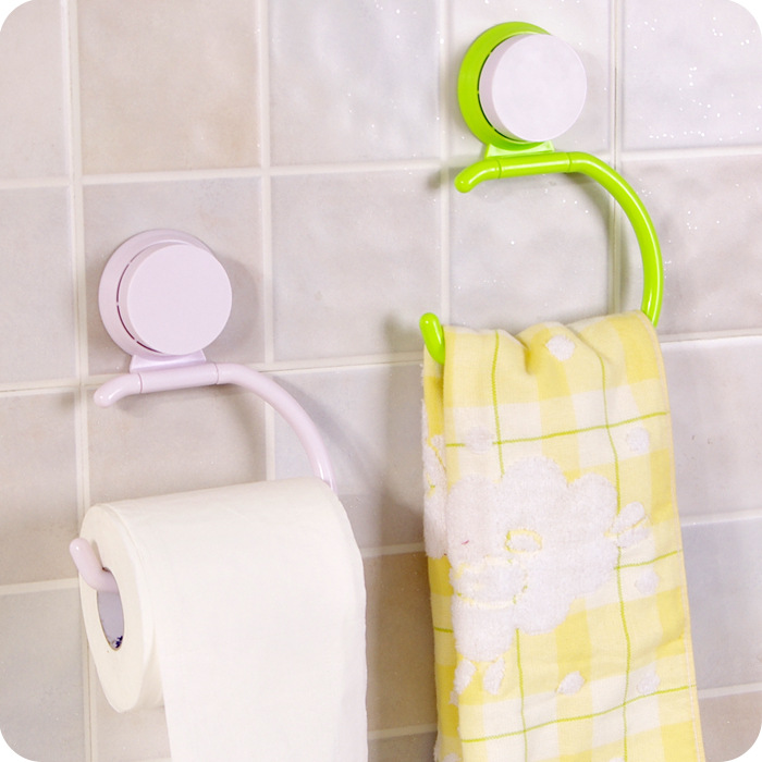 Plastic Paper Box Roll Holder Bathroom Accessories Toilet Paper Holder Creative Wall Mounted Roll Tissue Holder Towel Racks(China (Mainland))