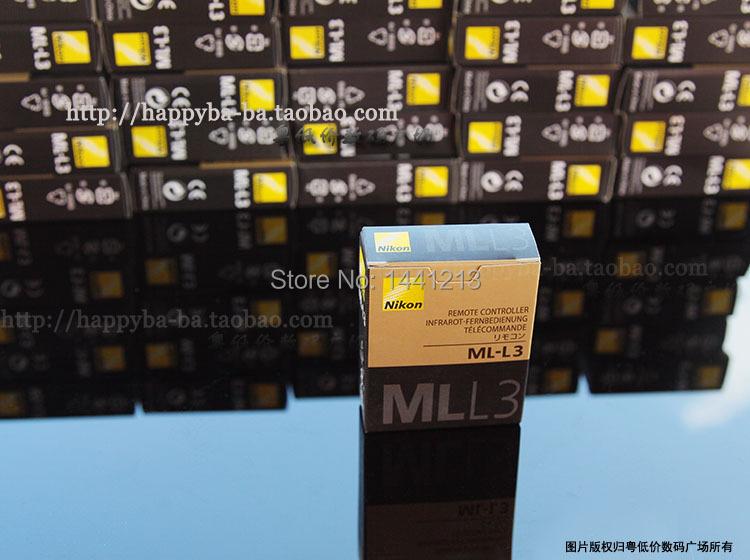 Free EMS postage Genuine ML-L3 Wireless IR Remote Control for Ni@on D40 D50 D60 D70 D80 D90 D3200 D5100(China (Mainland))