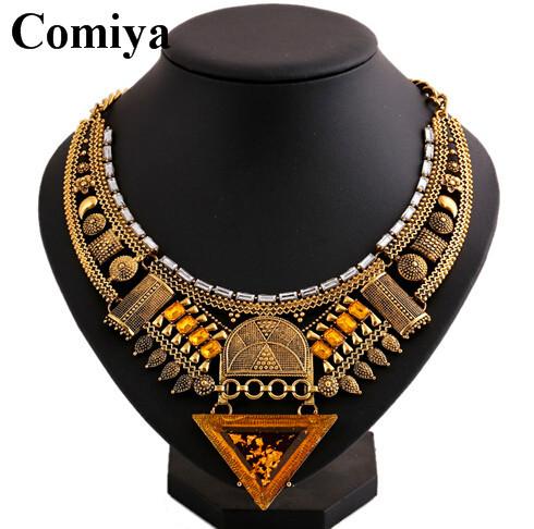 Горячая распродажа два цвета индийские украшения ожерелье этнические роскоши стразами мозаика ожерелья женщин aliexpress ожерелье