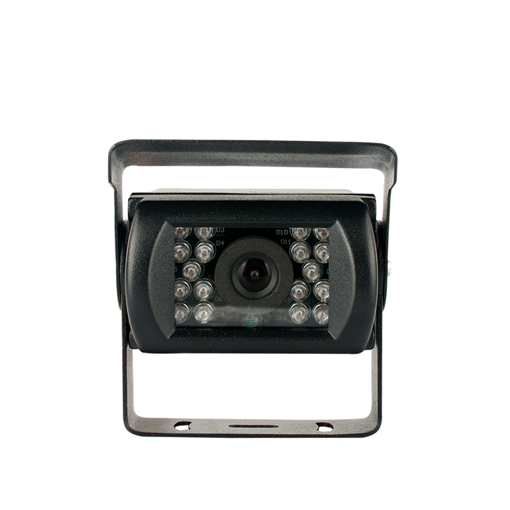 SHARP CCD rear view camera 120 view angle night vision waterproof camera, DC 9-35V wide voltage, for various bus/truck/van/etc.(China (Mainland))